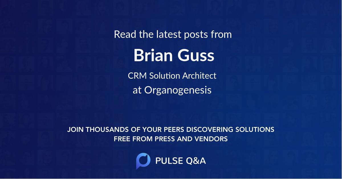 Brian Guss