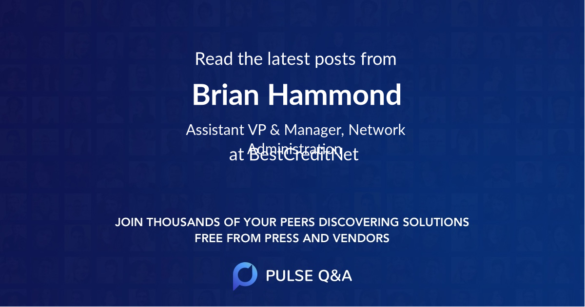 Brian Hammond