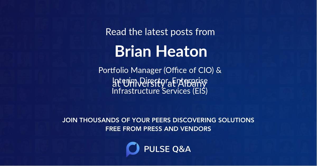 Brian Heaton