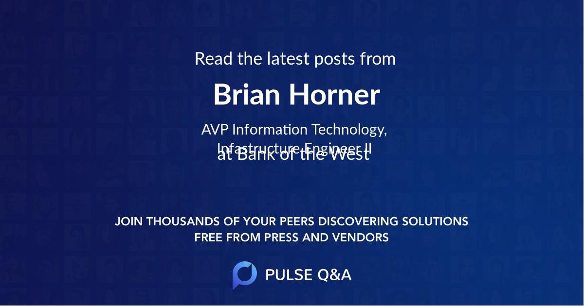 Brian Horner