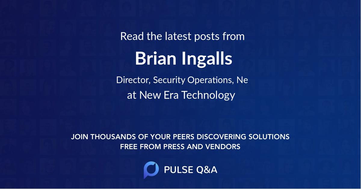 Brian Ingalls