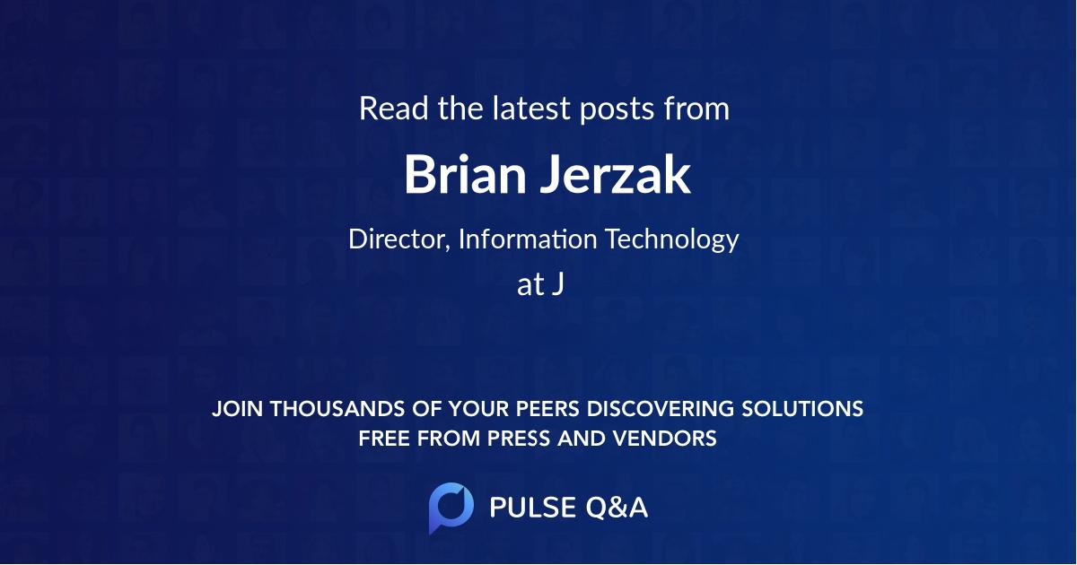 Brian Jerzak