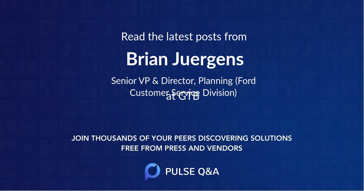 Brian Juergens