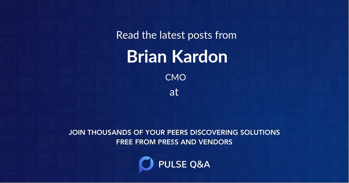 Brian Kardon
