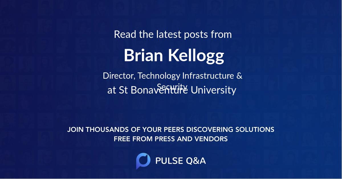 Brian Kellogg