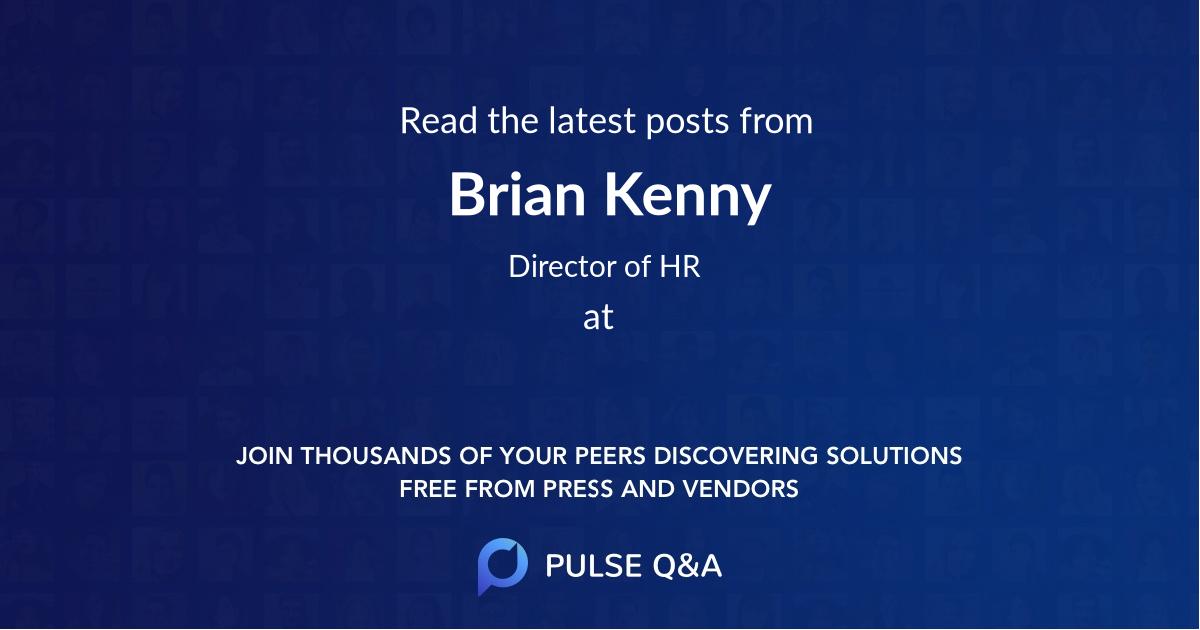 Brian Kenny