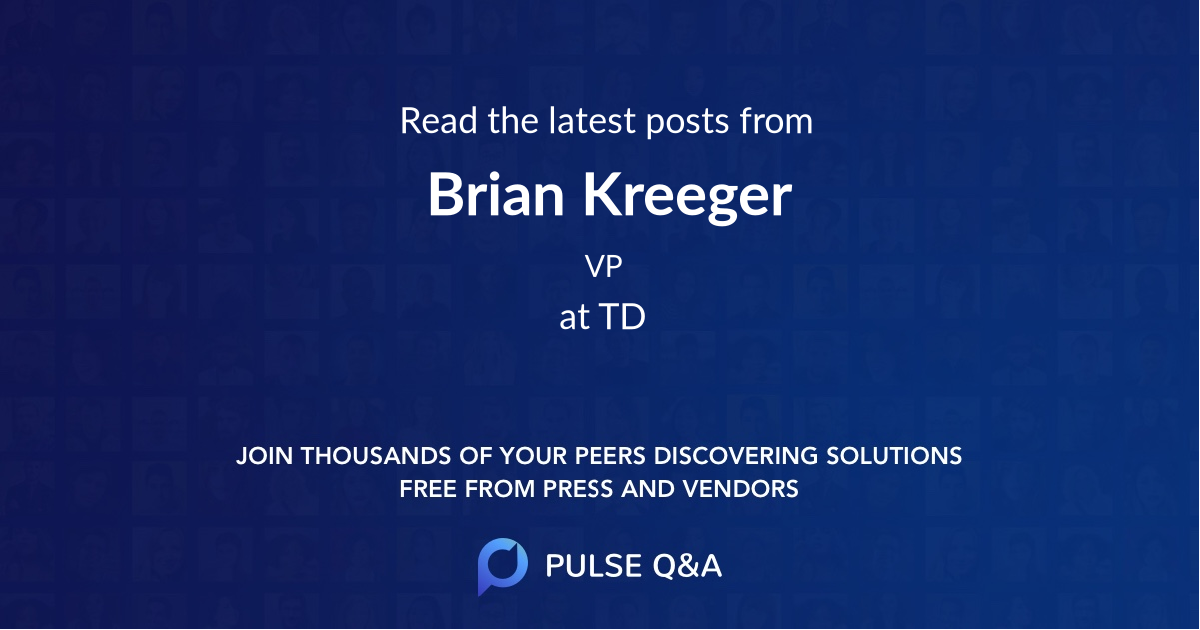 Brian Kreeger