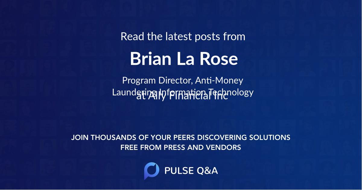 Brian La Rose