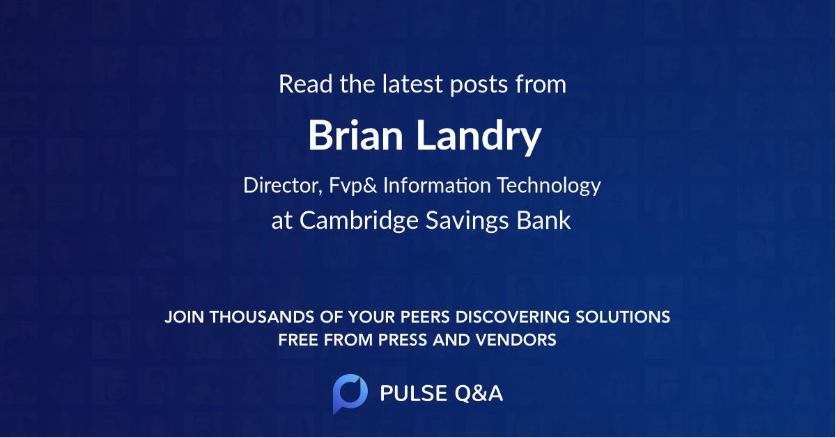 Brian Landry