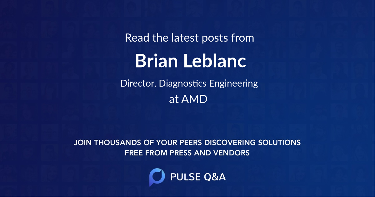 Brian Leblanc
