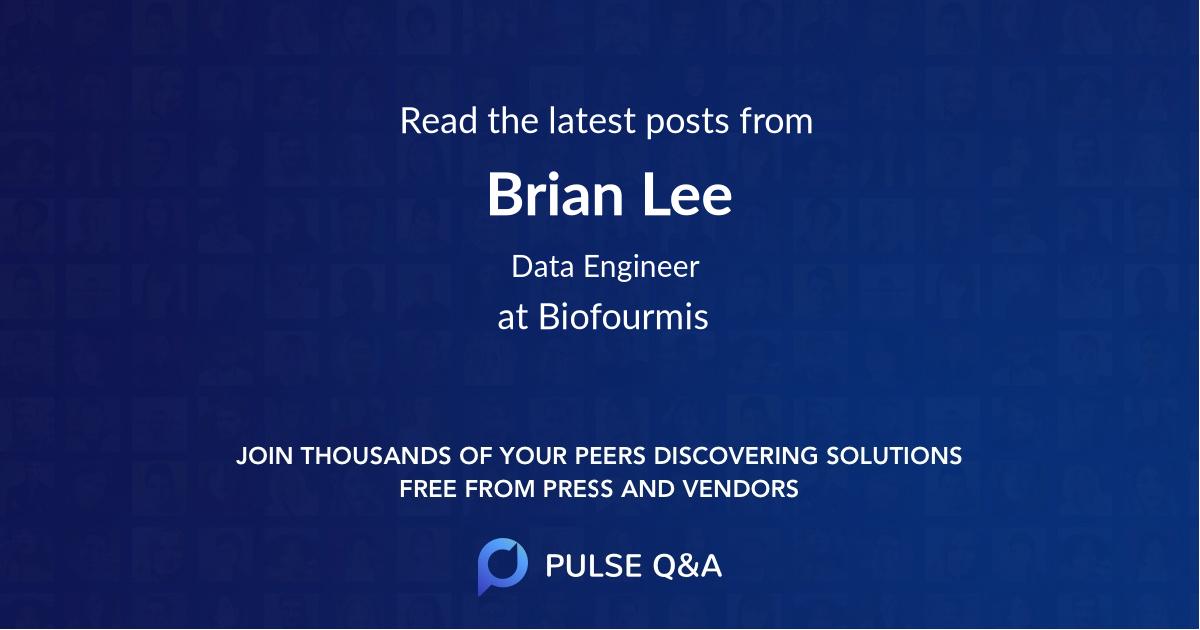 Brian Lee