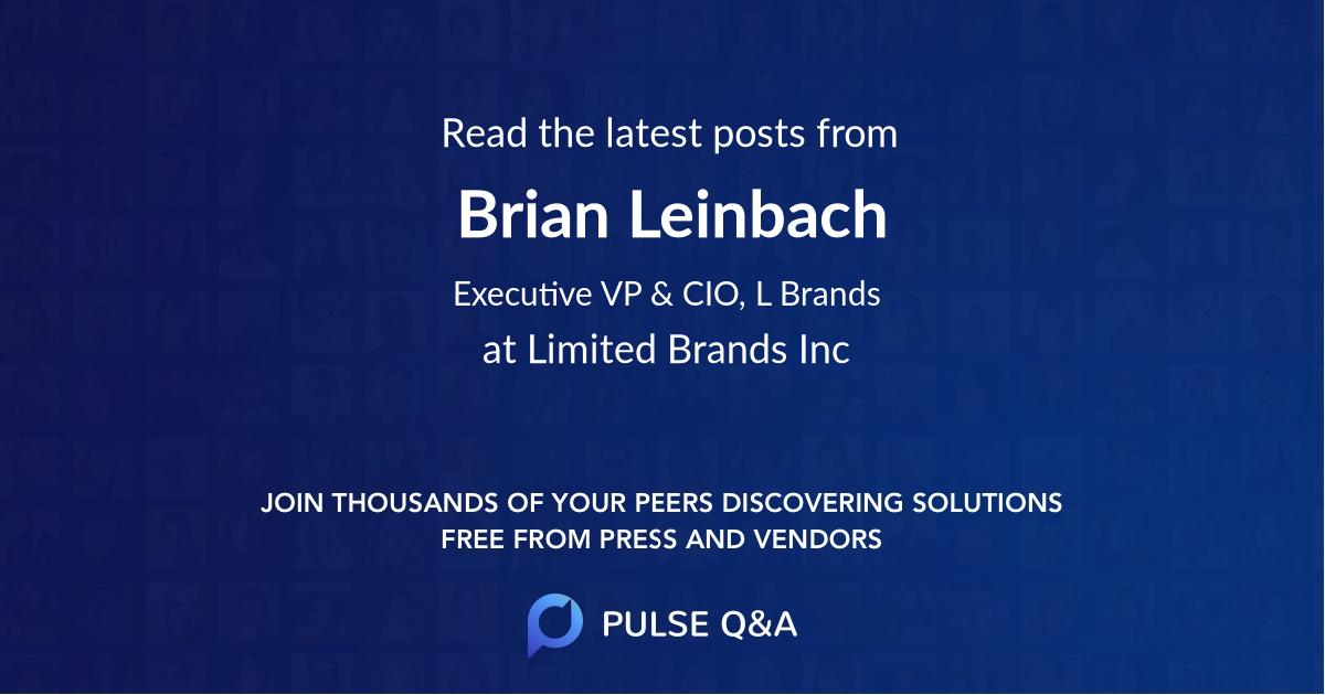 Brian Leinbach