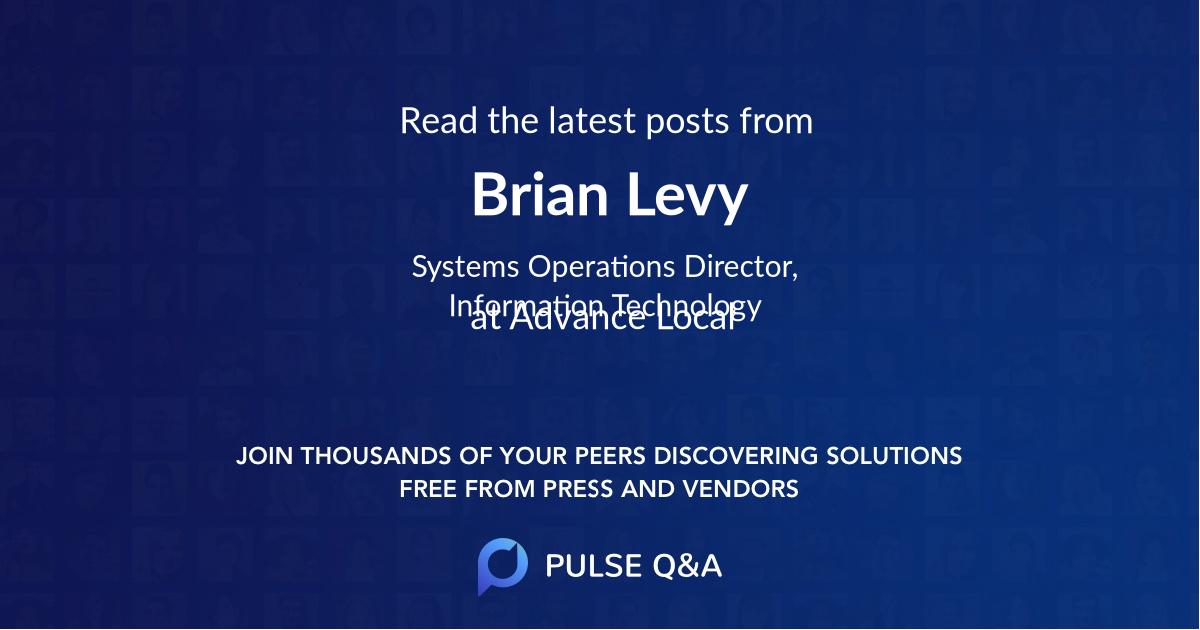 Brian Levy