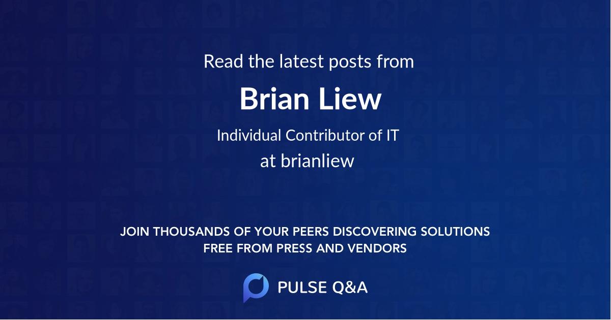 Brian Liew