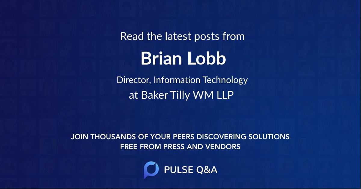 Brian Lobb
