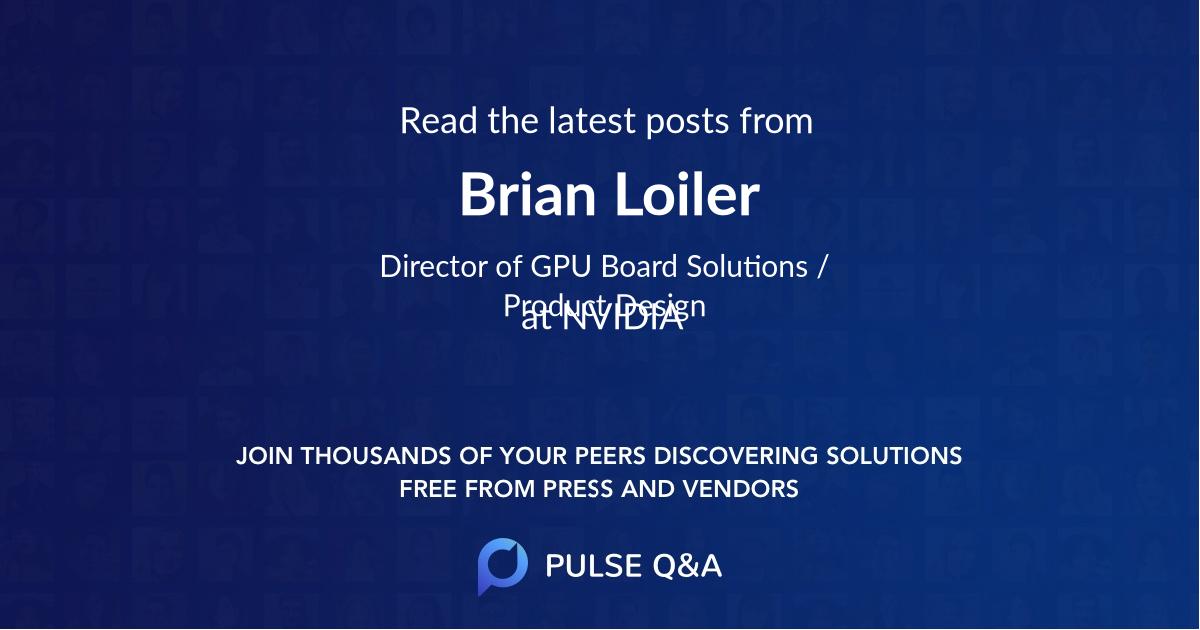 Brian Loiler