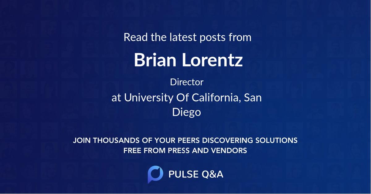 Brian Lorentz