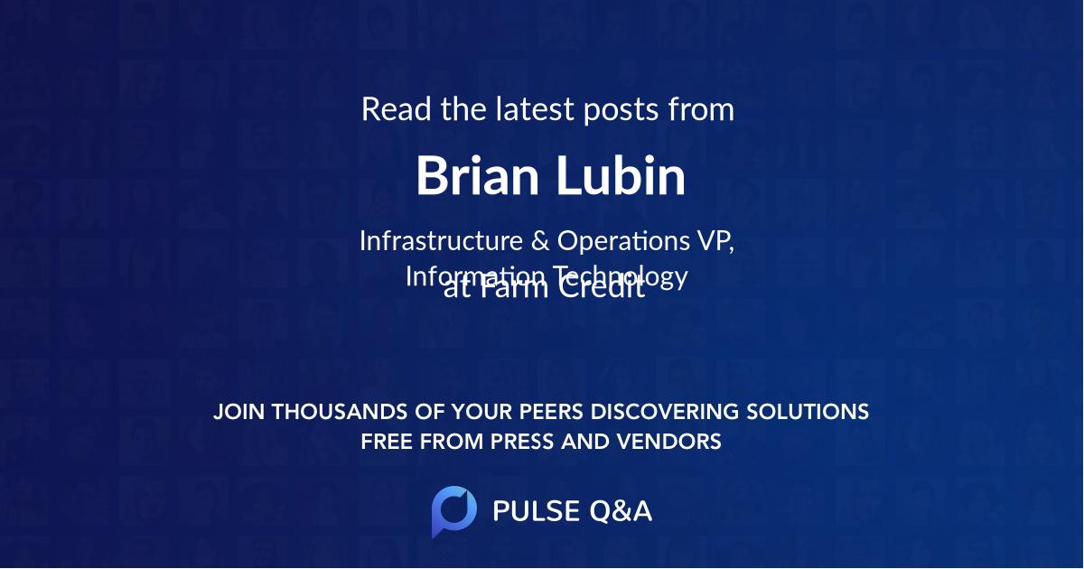 Brian Lubin