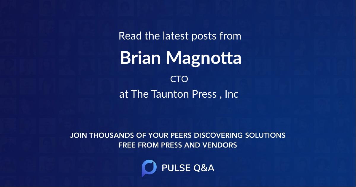 Brian Magnotta