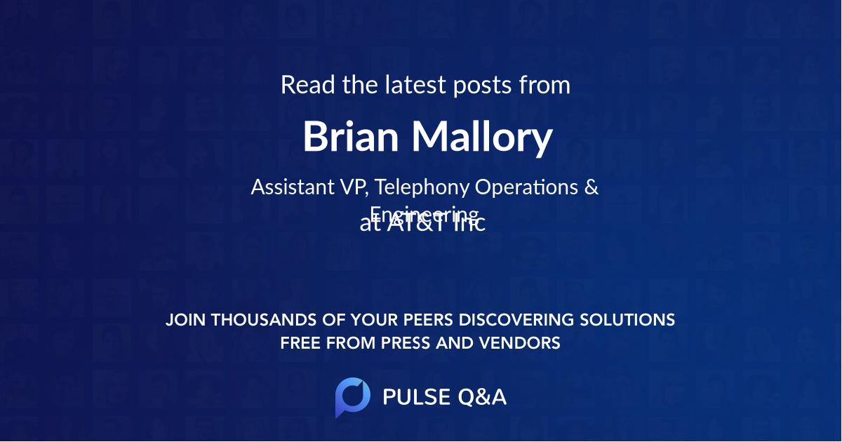 Brian Mallory