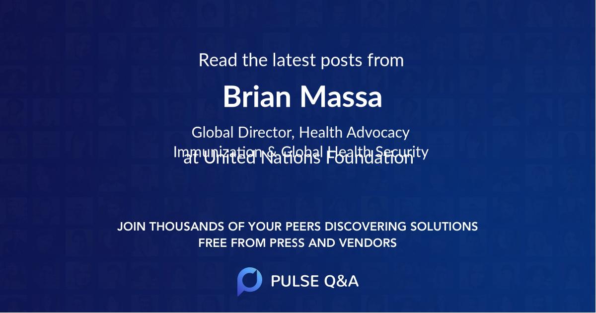 Brian Massa