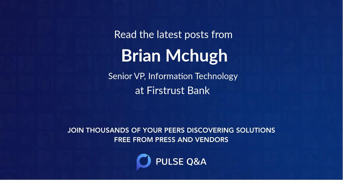 Brian Mchugh