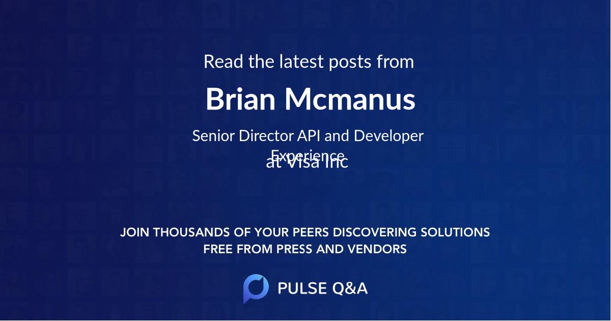 Brian Mcmanus