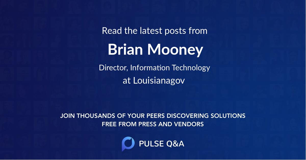 Brian Mooney