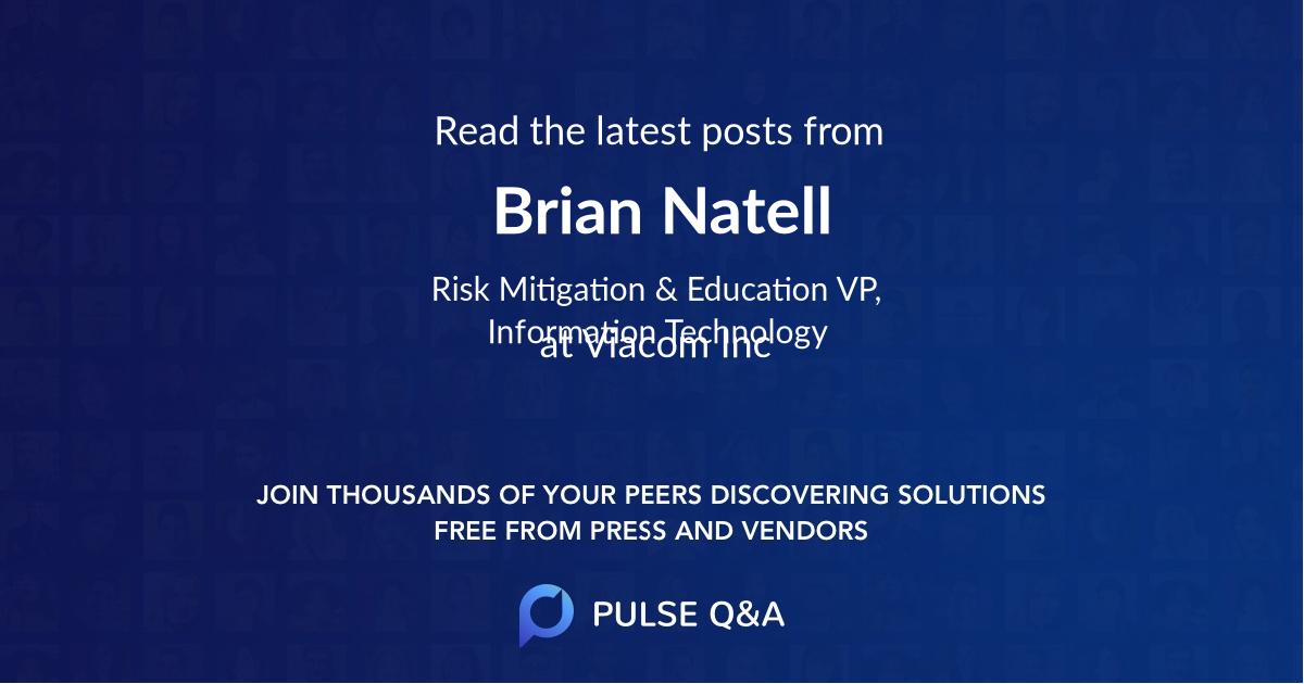 Brian Natell
