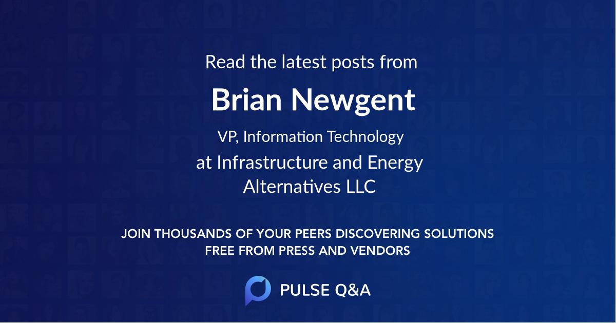 Brian Newgent