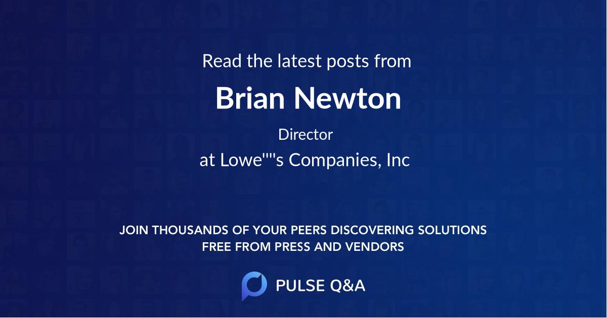 Brian Newton