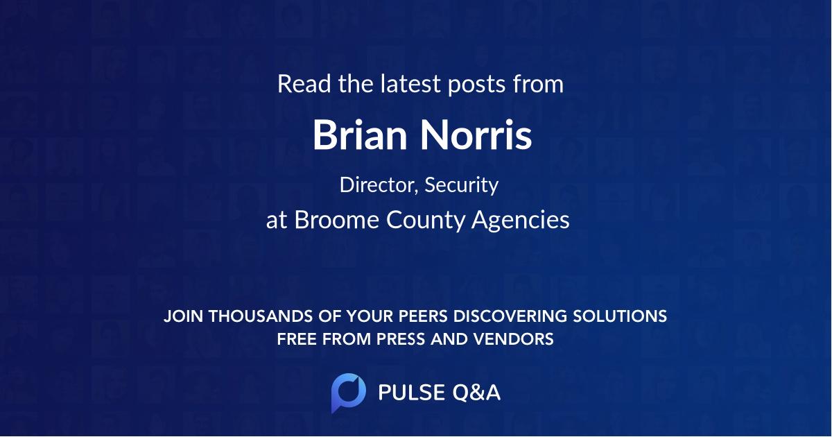 Brian Norris
