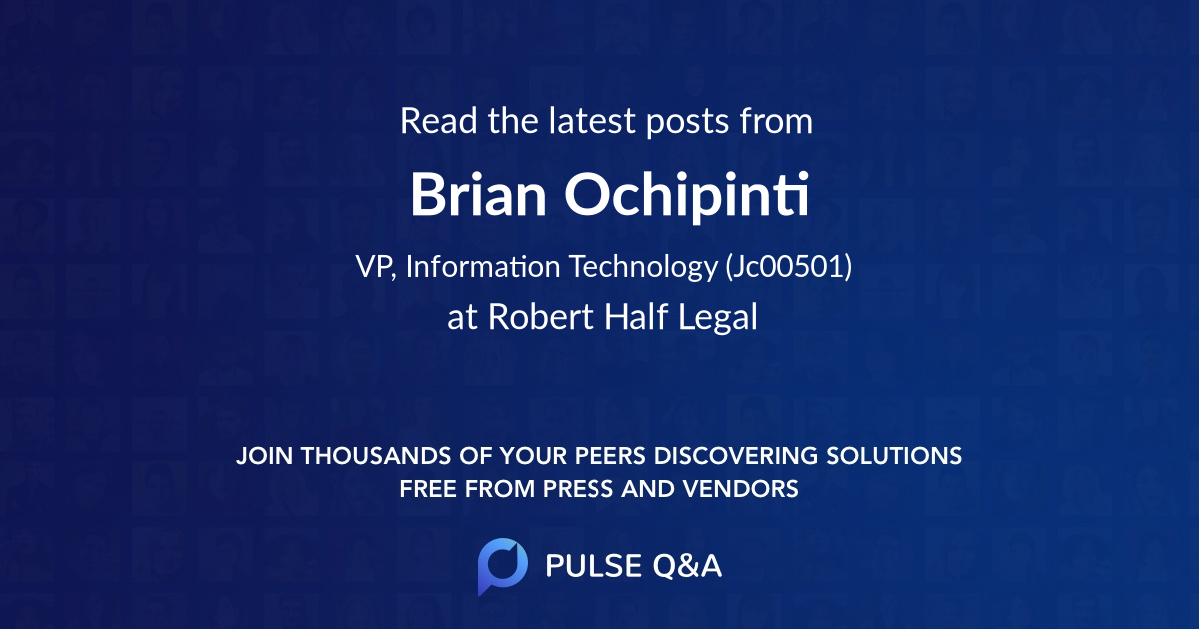 Brian Ochipinti