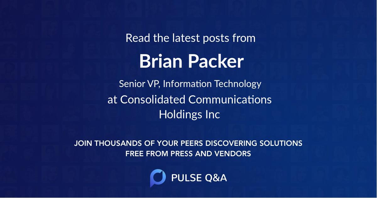 Brian Packer
