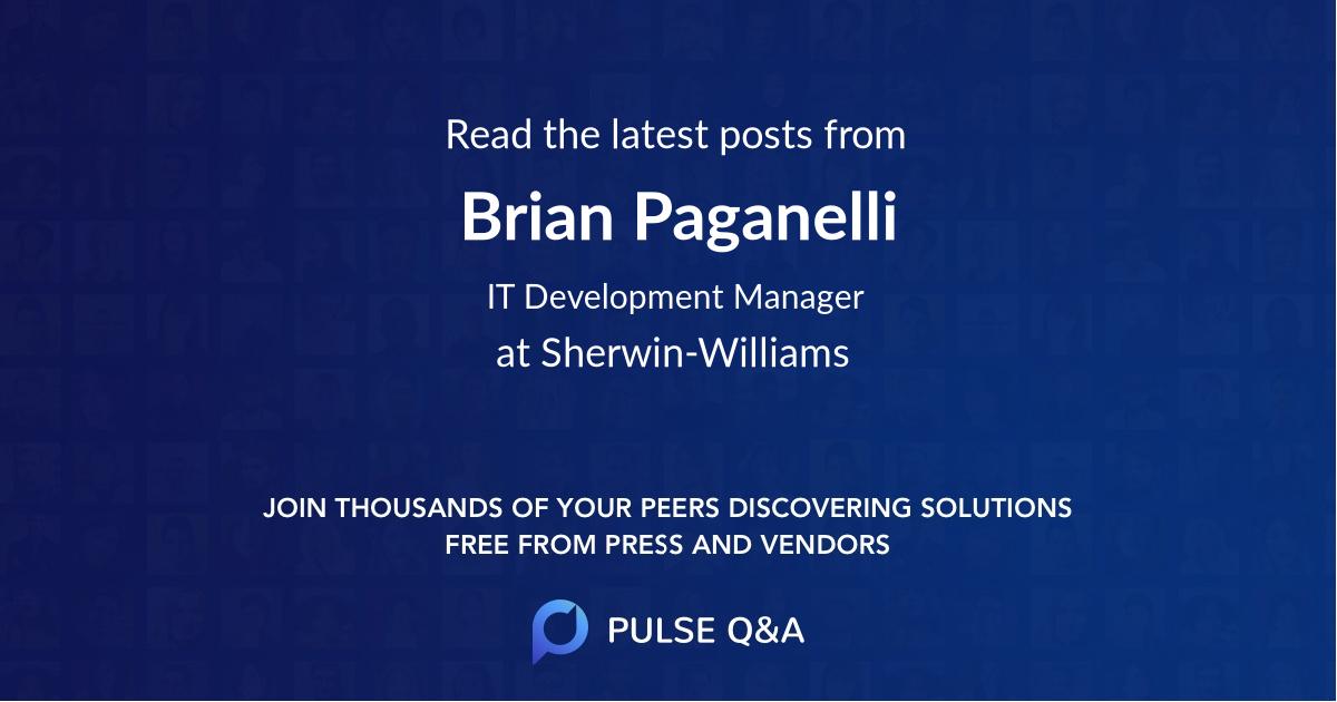 Brian Paganelli