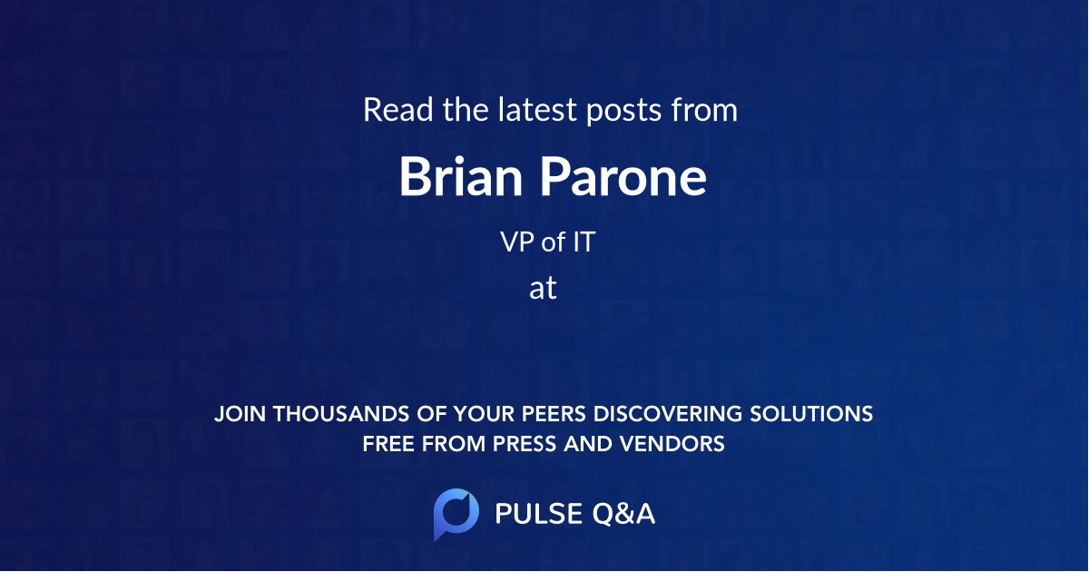 Brian Parone