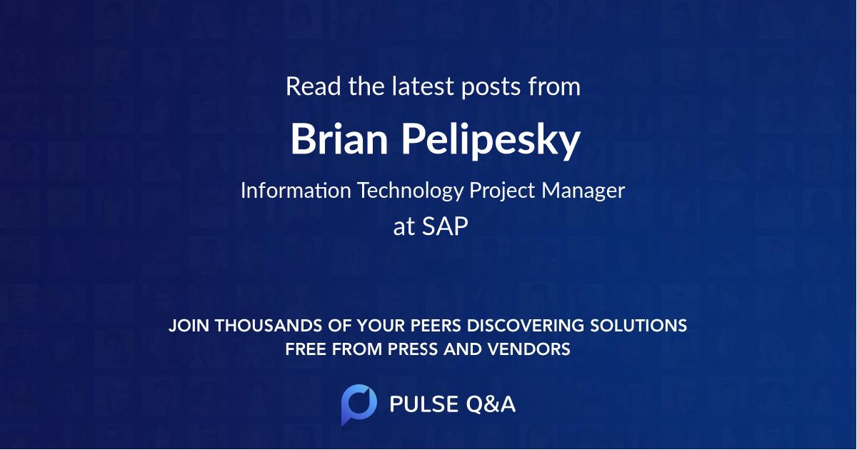 Brian Pelipesky