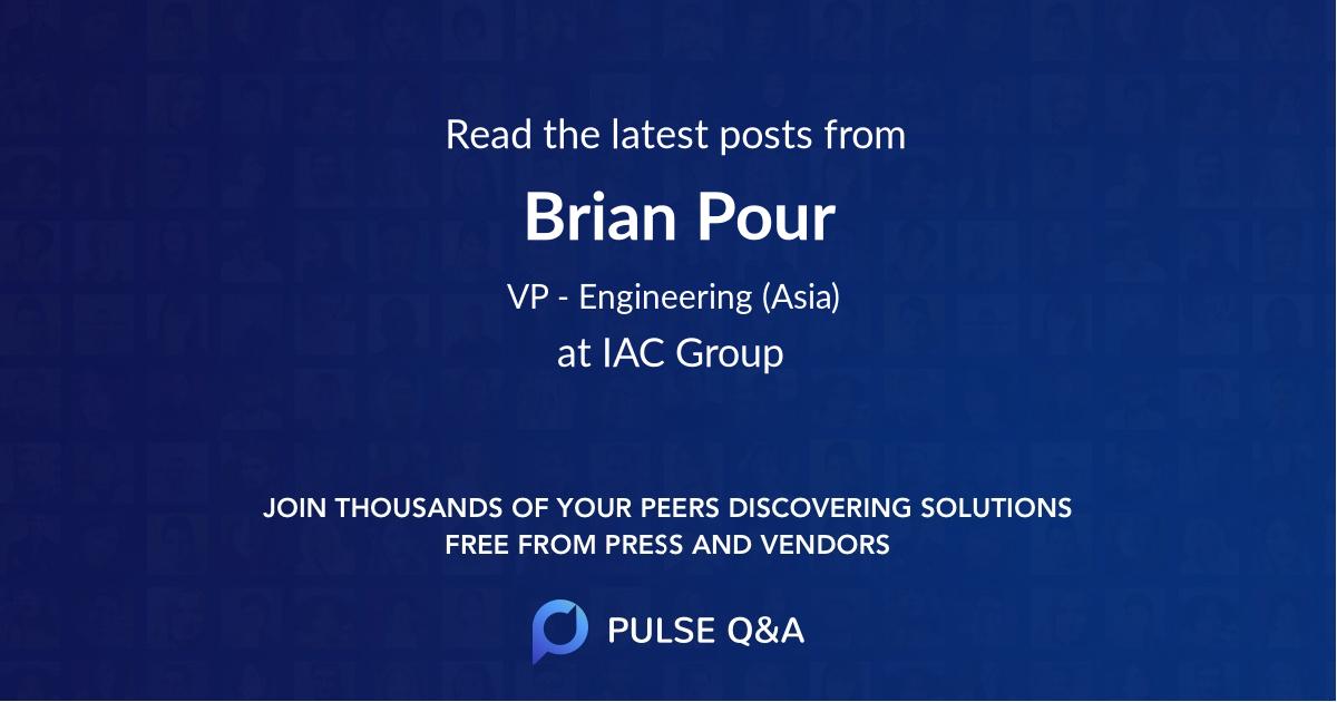 Brian Pour