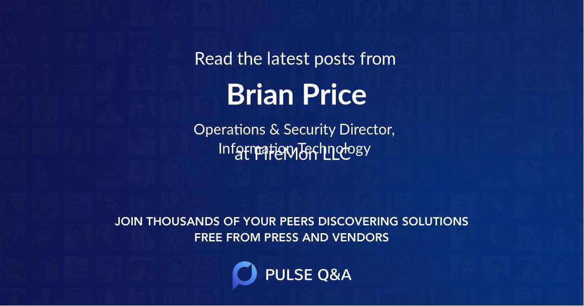 Brian Price