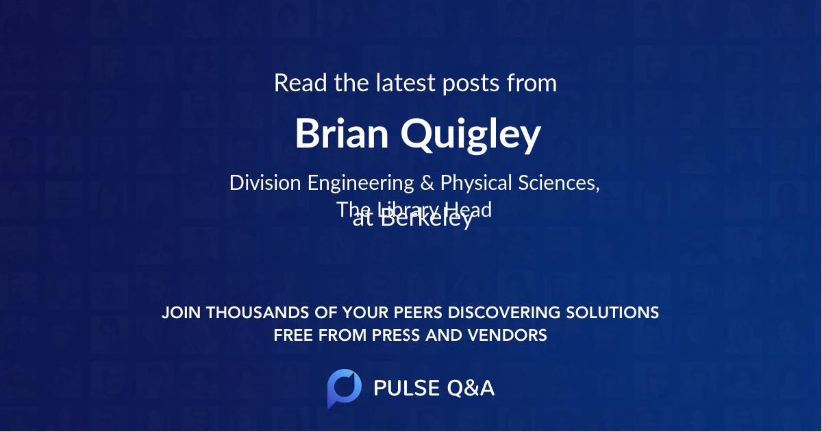 Brian Quigley