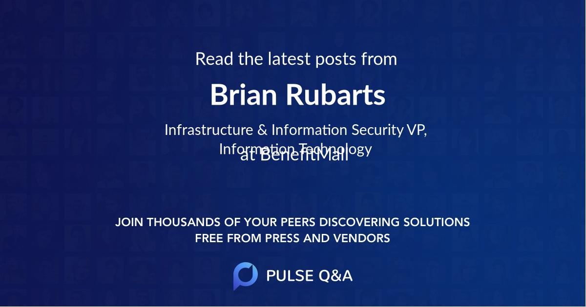 Brian Rubarts
