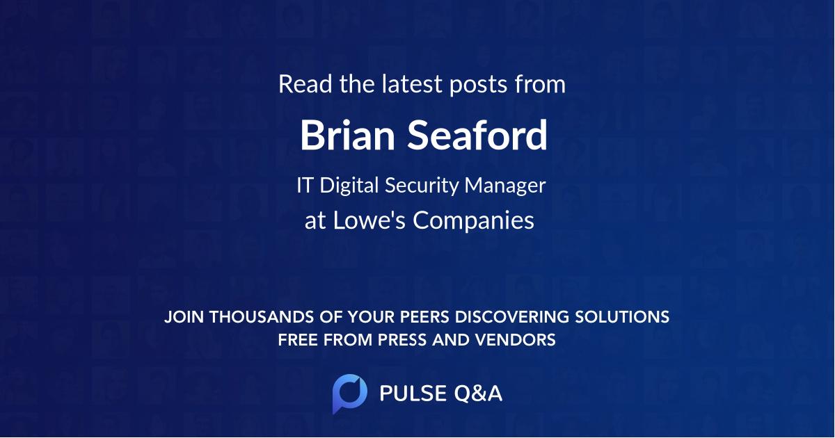 Brian Seaford