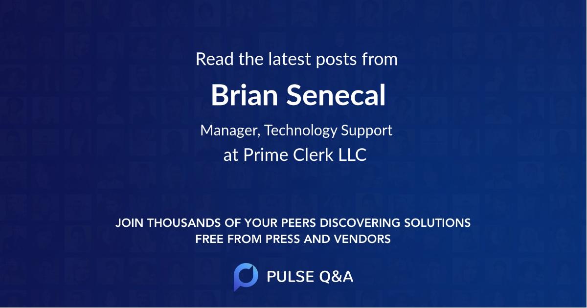 Brian Senecal