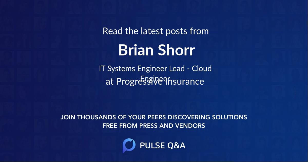 Brian Shorr