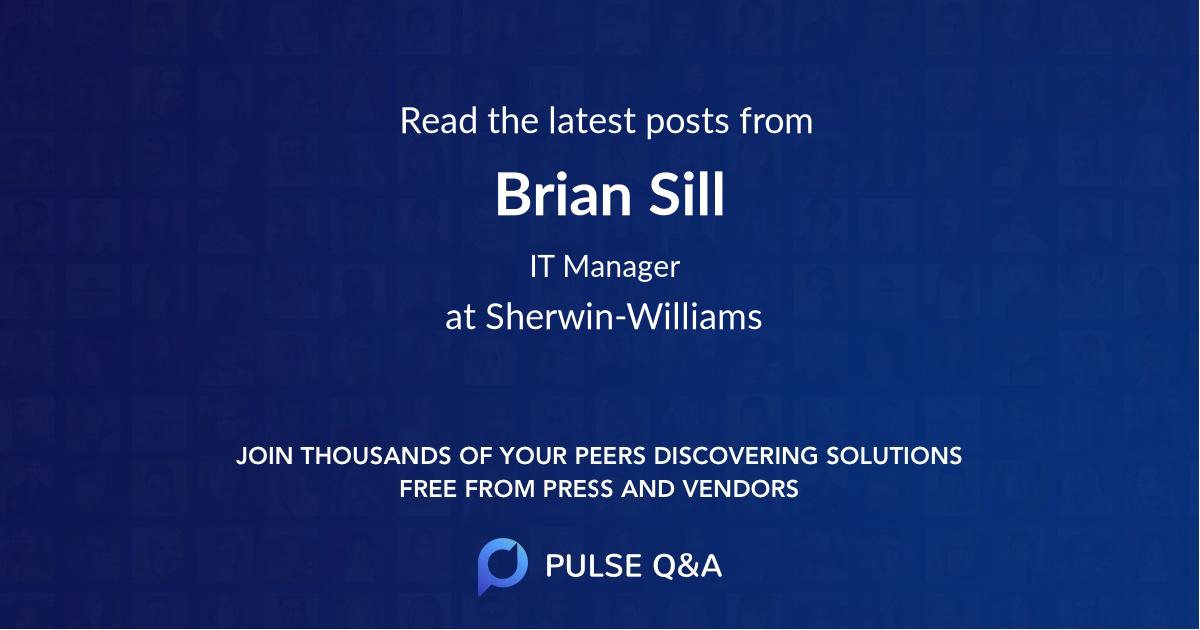 Brian Sill