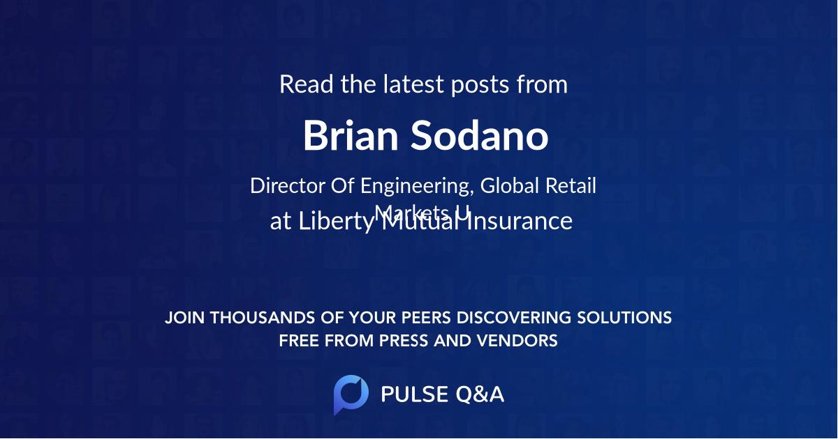Brian Sodano