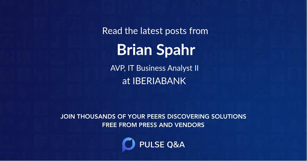 Brian Spahr