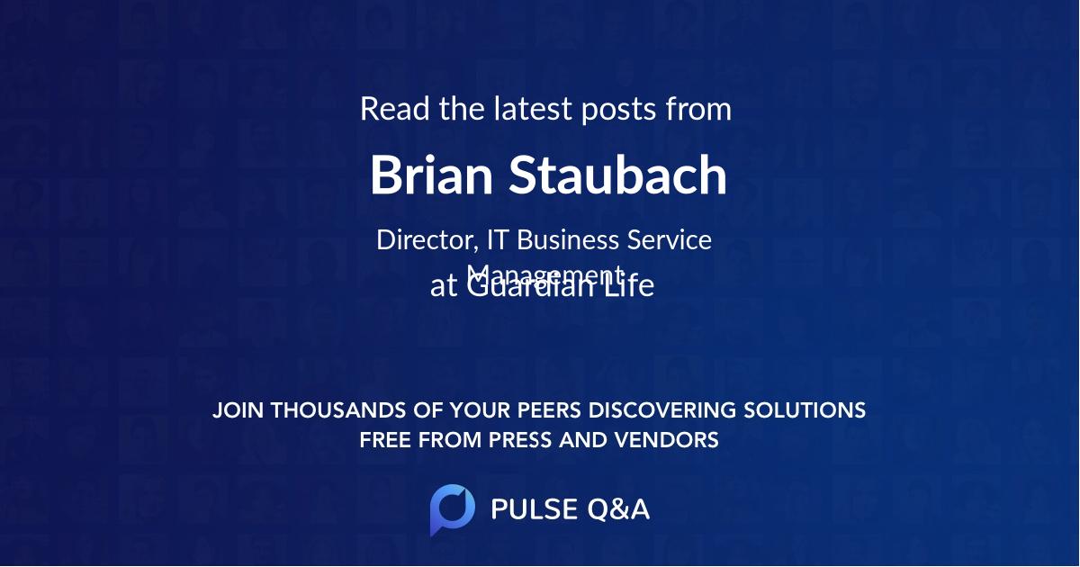 Brian Staubach