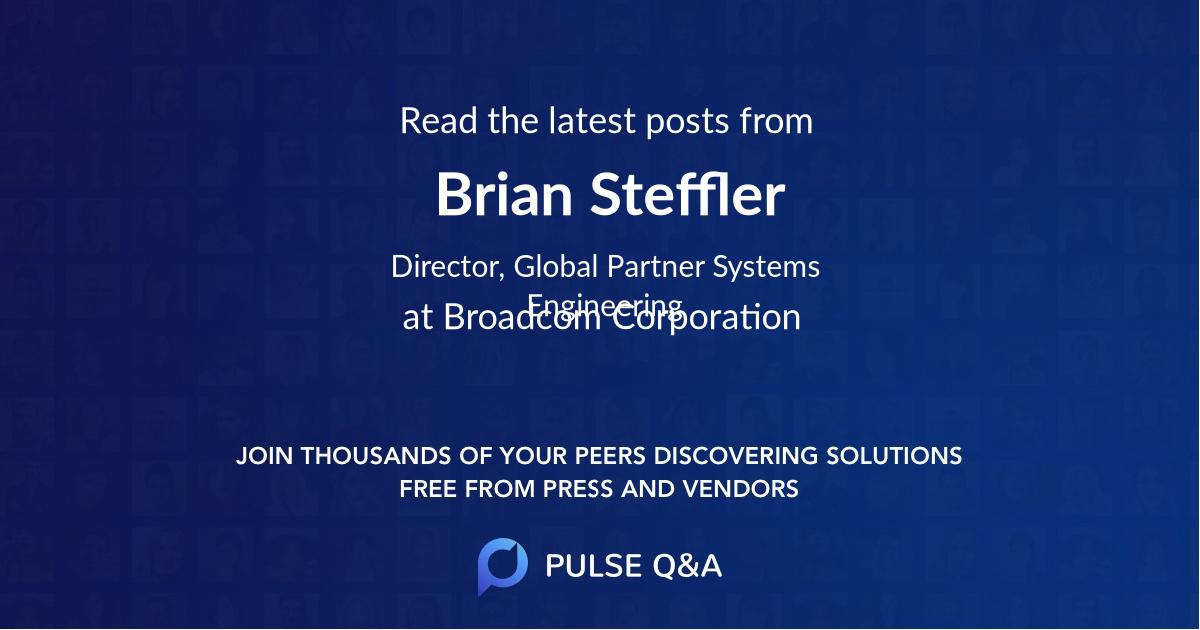 Brian Steffler