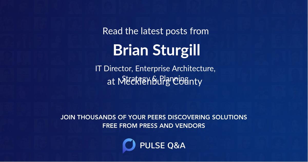 Brian Sturgill